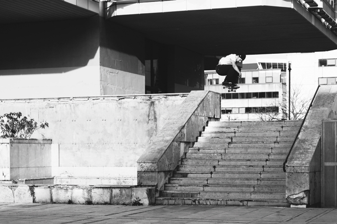 Danny Sommerfeld - switch ollie