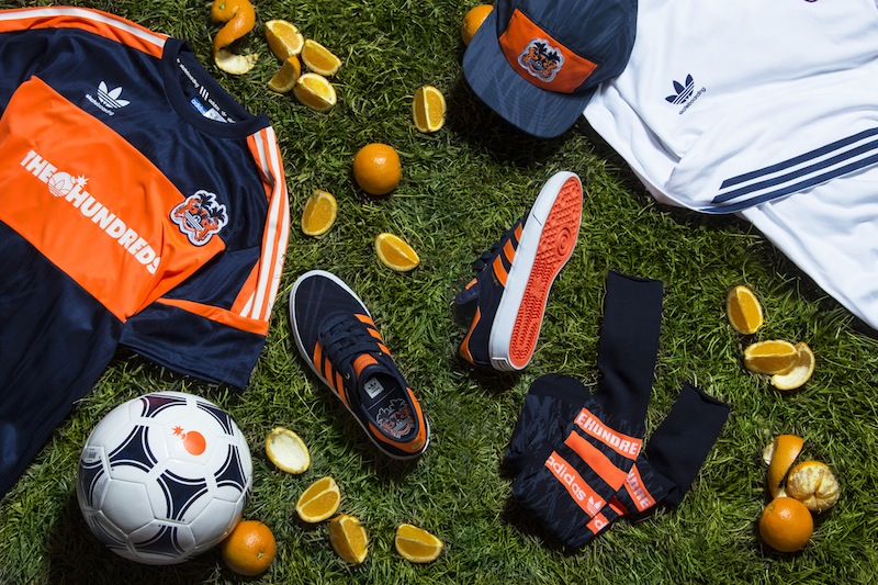 The HundredsXadidasskateboarding-OrangeCrush-GroupShot