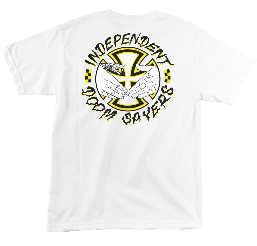 T-Shirt Independent Salazar Doomsayers white