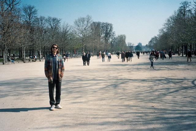 Me in the park...Le garden des tuileries