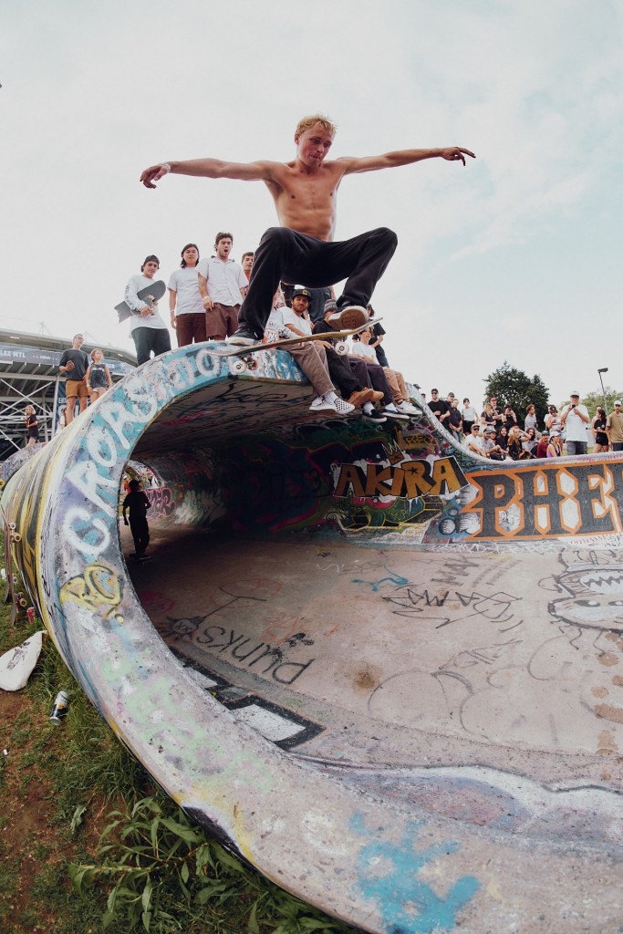 Jake is from Tennessee where he mostly skates alone... Which is hard to imagine.