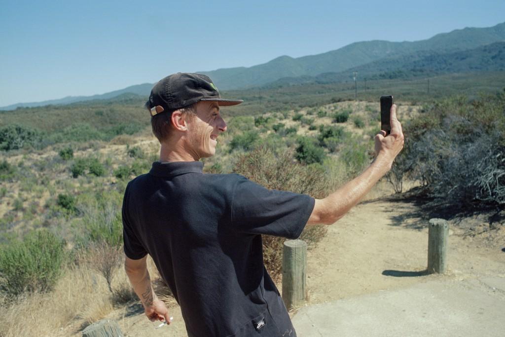 Phil dirty selfie cali