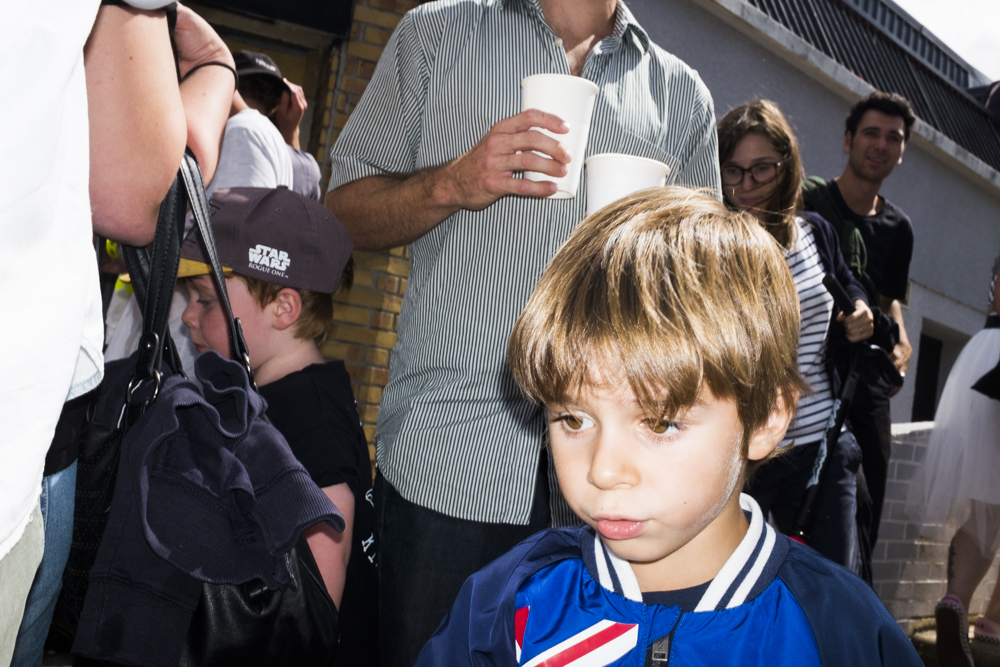This kid was bummed he didn't get his Tony Hawk Trick Tips video signed by the Hawk.